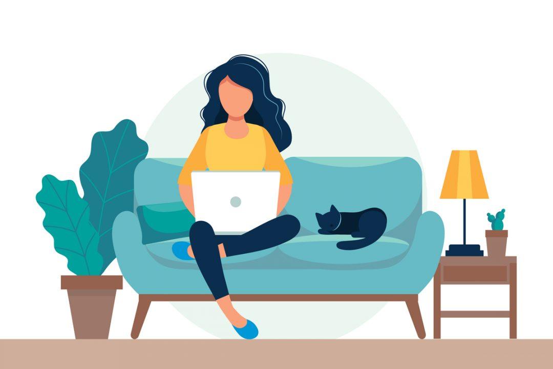 """Bir evden çalışanın """"püf noktası"""" tavsiyeleri"""
