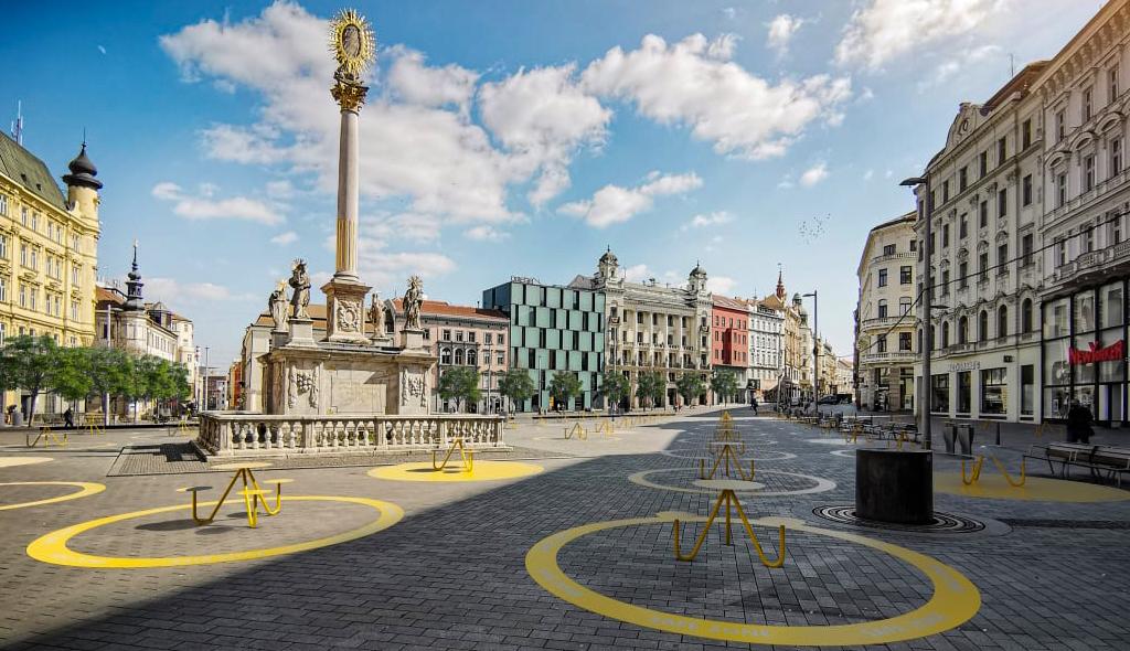 Sosyal mesafeye uygun şehirler için yeni fikirler