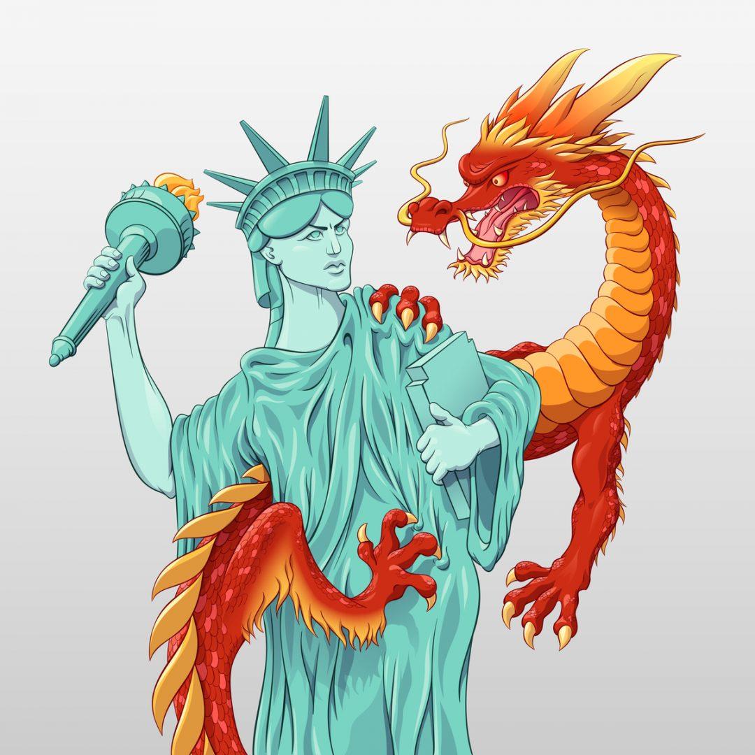 Küresel fetret devri, Batısızlık ve Çin
