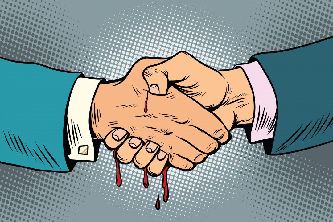 Kardeş katiliyle el sıkışmak