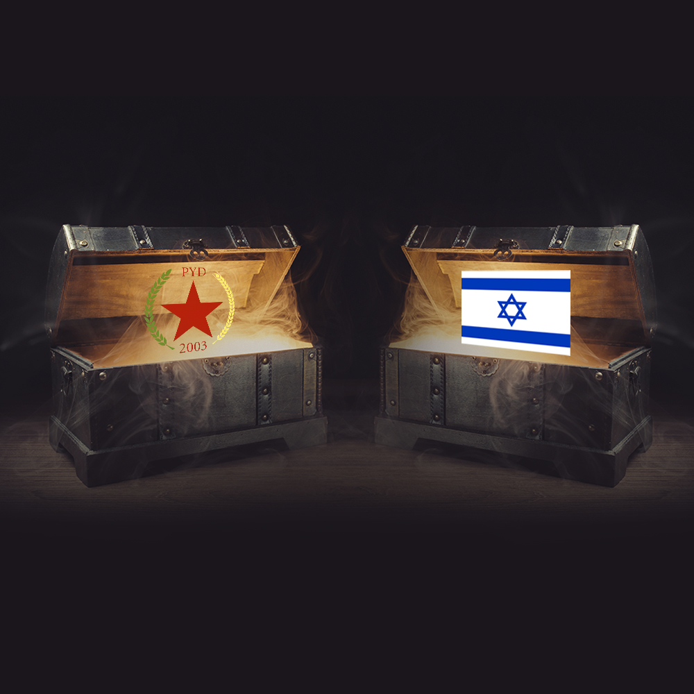 İsrail'in PYD ile dansı: herkesin bildiği sır